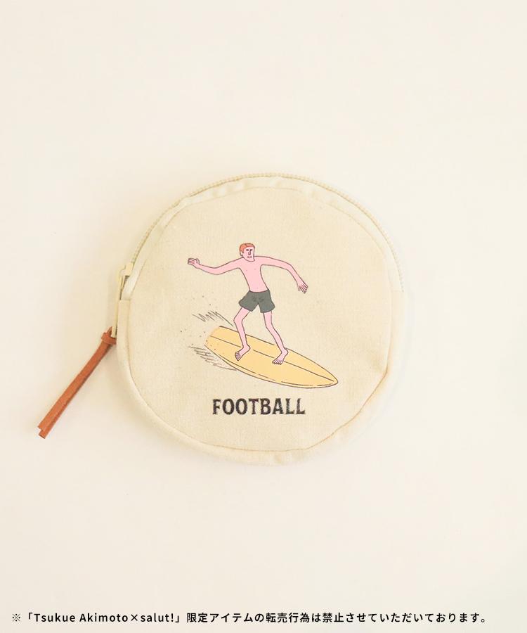 ラウンドポーチ(FOOTBALL)