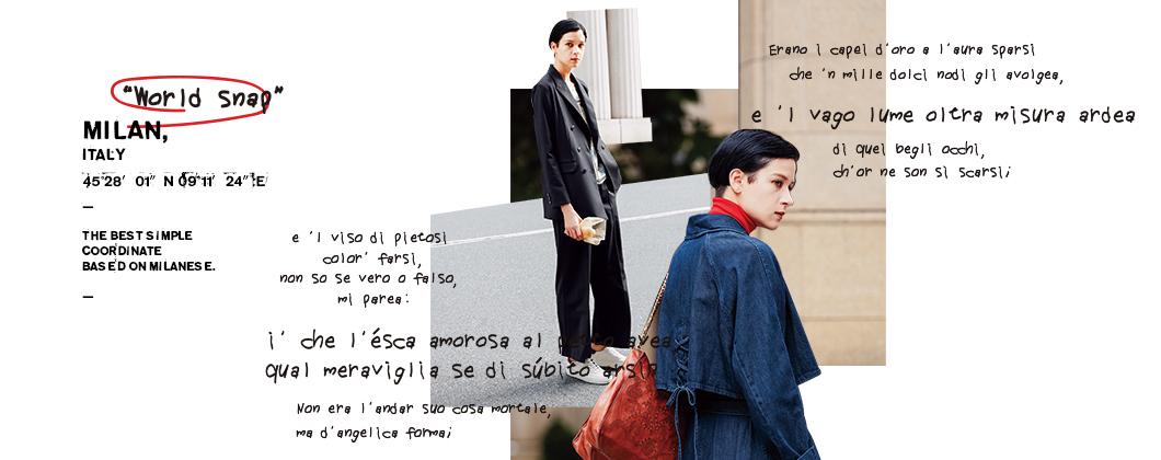 new collection-MILAN/ミラノ-