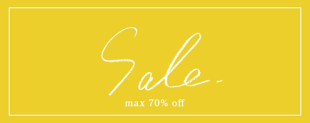 BEARDSLEY MAX70%OFF SALE開催!