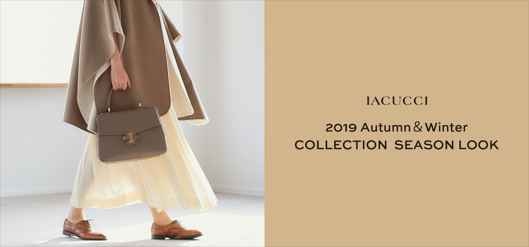 2019 AUTUMN & WINTER COLLECTION STYLING LOOK