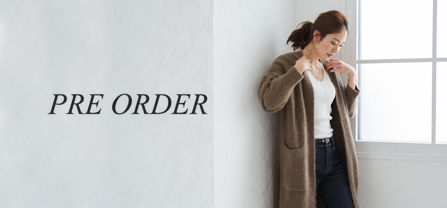 Loungedress_sub banner_PRE ORDER